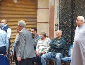 فيديو وصور.. الحزن يسيطر على الجميع  أمام منزل الشهيد محمد الحوفى