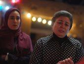 شاهد كواليس إلهام شاهين وأمينة خليل فى فيلم أمير رمسيس حظر تجول