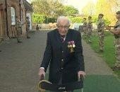 رئيس الصحة العالمية يشكر عجوز بريطاني استطاع جمع الملايين لضحايا كورونا