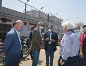 محافظ القليوبية: نقل سوق الجمعة بمنطقة مسطرد فى شبرا الخيمة لتطوير الموقع