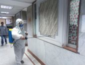 الخشت: استمرار عمليات تعقيم وتطهير مستشفيات جامعة القاهرة لمكافحة كورونا