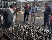 ضبط 13 طن رنجة مجهولة المصدر بمصنع غير مرخص قبل شم النسيم بكفر الشيخ