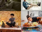 أربعة حالات مزاجية مختلفة.. تعرف على يوميات مينا مسعود فى العزل الصحى المنزلى