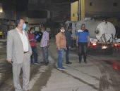 صور.. حملات نظافة وتجميل بمدينة الأقصر خلال حظر التجوال