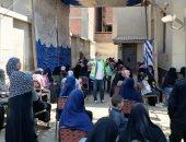 """محافظ الفيوم: توعية 433 ألف مواطن بمبادرة """"إيد واحدة ضد كورونا"""".. صور"""