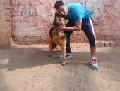 """""""ارحموا الحيوانات دى أرواح"""".. رسالة من أحمد فهمى لشخص اعتدى على كلب"""