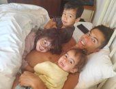 أفضل طريقة لبدء اليوم.. هكذا وصف كريستيانو رونالدو يومه مع صديقته وأبنائهما