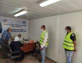 أول قافلة طبية للكشف على العاملين بالمواقع فى مدينة ناصر الجديدة