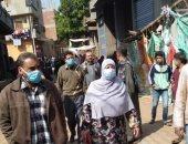 رئيس مدينة منوف: فض 4 أسواق للمرة الرابعة منعا للتزاحم