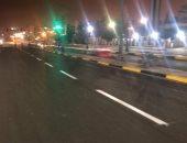 صور .. الانتهاء من أعملا تطوير طريق الإسكندرية مطروح
