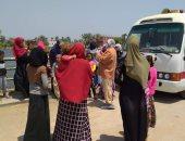 استمرار عمل القافلة الطبية والتوعوية بقرية منشية نيازى المعزولة بالمنيا