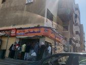 صور.. إقبال كبير من المواطنين على شراء الفسيخ والرنجة بالمقطم