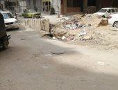 شكوى من تكسير بشارع منشية التحرير فى عين شمس دون إصلاح الطريق مرة أخرى