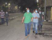 صور.. سكرتير محافظة الأقصر يتفقد حملات النظافة بالشوارع وتطبيق حظر التجوال