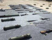 سوريا: ضبط نصف مليون طلقة وصواريخ من مخلفات الإرهابيين بالمنطقة الجنوبية