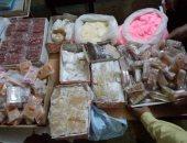 """""""صحة المنيا"""" تعدم حلوى غير صالحة وتضبط 27 منشأة بدون ترخيص"""