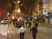 الشرطة الإسرائيلية تقمع اليهود فى منطقة ميئة شعاريم بالقدس المحتلة.. فيديو