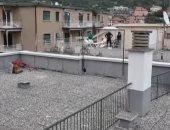 فيديو.. حصص تدريبية فى التنس فوق أسطح المبانى بإيطاليا