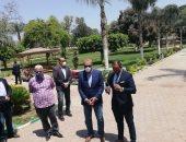 محافظ القليوبية من القناطر الخيرية: أشكر المواطنين على التزامهم