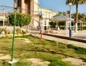 صور .. حدائق ومتنزهات كفر الشيخ خالية من المواطنين وغلق حديقة الحيوان