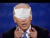 ترامب الأبن يسخر من جو بايدن منافس والده بصورة لكمامة على وجهه