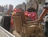 محافظ الجيزة: تشميع مقهى بمدخل المعتمدية خالف قرار الغلق واستقبل المواطنين