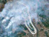 مخاوف من رماد إشعاعى مع استمرار حرائق الغابات بمنطقة تشيرنوبل بأوكرانيا