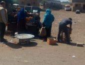 رئيس مدينة تلا: فض سوق قرية شبرا بتوس منعا للتزاحم بسبب فيروس كورونا