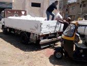 صور.. توفير السلع لكفر العجمى بكفر الشيخ ونقل المخلفات بطريقة آمنة