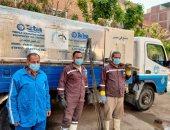 شركة مياه القليوبية تطهر شبكات الصرف الصحى استعدادا لشهر رمضان