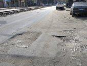 أهالى الوايلى يشكون من تكسير أسفلت شارع أحمد سعيد وإعاقة حركة السيارات