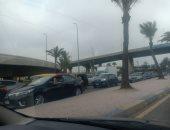 زحام بمدخل الإسكندرية وانتشار مرورى مكثف.. صور