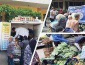 """استعدادات شهر الخير ..""""الزراعة"""" تدفع بمنافذ متنقلة لبيع الخضر والفاكهة واللحوم بسعر مخفض بالقرى الأكثر فقرا.. وتؤكد: لزيادة المعروض والحد من التكدس بالأسواق ..""""الإصلاح الزراعى"""": 213 منفذا لتوفير السلع الغذائية"""