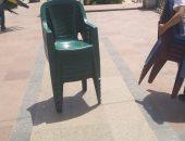 صور.. الأمن ينتفض ضد التجمعات أسفل الكبارى على الكورنيش