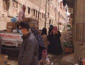 فض سوق قرية زاوية بمم فى تلا بالمنوفية منعا للتزاحم بسبب فيروس كورونا