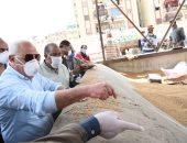 محافظ بورسعيد: توريد 3882 طن قمح من المزراعين للصوامع والمطاحن
