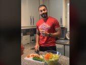 """خالد سليم رياضى وطباخ ونجار على تيك توك.. اعرف بيعمل إيه.. """"فيديو وصور"""""""