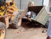 رفع 35 طن من القمامة والمخلفات بمركز البلينا بمحافظة سوهاج