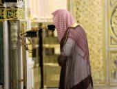 شاهد.. دعاء مؤثر فى أول يوم تراويح دون مصلين في الحرم النبوي الشريف