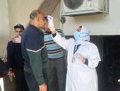 إجراءات طبية مشددة على مستشفى اليوم الواحد بجامعة الإسكندرية .. صور