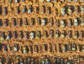 صور.. قبور جماعية لضحايا فيروس كورونا فى مدينة ماناوس البرازيلية