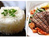 فطارك هيلثى فى رمضان.. شرائح لحم كندوز وأرز مسلوق