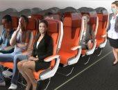 دروع واقية ومقاعد بوجهين.. تصميمات مبتكرة للطائرات في زمن كورونا