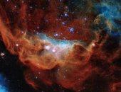 """ناسا تنشر صورة """" الشعاب الكونية"""" المشتعلة فى الفضاء"""