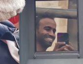 محمود الليثي فى كواليس تصوير مسلسل النهاية مع عمرو عبد الجليل.. فيديو وصور