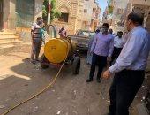 رئيس مدينة منوف: تطهير قرية هيت يوميا عقب إصابة 11 حالة بفيروس كورونا