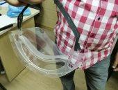 """""""هندسة الأزهر """" تصنيع أول ماسك ثلاثى الأبعاد لمواجهة أزمة فيروس كورونا"""