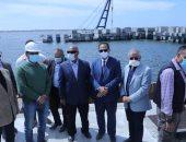 لجنة النقل بمجلس النواب تتفقد مشروع تداول الأخشاب