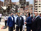 رئيس الوزراء يتفقد مشروع محور الفريق ابراهيم العرابى