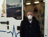 نائب مدير مستشفى النجيلة للعزل ينعى زملاءه المتوفين بسبب كورونا.. صور